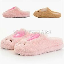 2014 Adorable Rabbit Cartoon Slippers Indoor Half Foot Covering Women Girl GBW