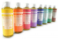 DR BRONNERS CASTILE LIQUID SOAP Organic Fair Trade ALL FRAGRANCES - FREE UK P&P