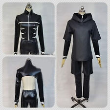 Tokyo Ghoul Kaneki Ken Battle Elastic Jacket Cosplay Costume-Custom Made New