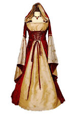 Maid Marion Medieval Renaissance Gown Game of Thrones Dress Costume UK Size 8/10
