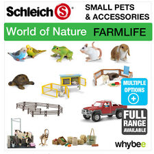 SCHLEICH WORLD OF NATURE FARM LIFE SMALL PETS & SCENERY PACKS ANIMAL FIGURES