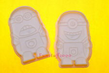 Despicable Me Minions Madness Cartoon Cookie Biscuit Stamp Cutters Mold
