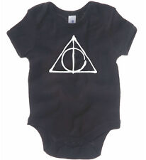 DEATHLY HALLOWS BABY ONE PIECE HARRY POTTER HOGWARTS RABBIT SKINS CREEPER ROMPER