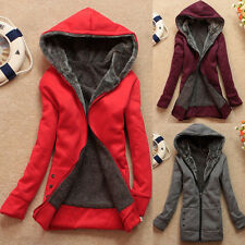 HOT! Women's Winter Jacket Coat Hooded Pullover Fleece Jacket Coats & Jackets