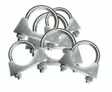 Exhaust U Hose Clamp Clamps Clamping Clips Nuts Bolts Zinc Plated Universal