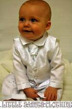 Formal BOYS CHRISTENING/WEDDING OUTFIT/SUIT AVAILABLE IN WHITE OR IVORY