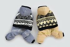 2014 Autumn Winter Teddy Dog Pet Clothing Wear Coats Dog Jacket Sweater Clothes