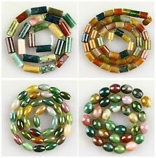 J60408 8x6mm Gemstone indian agate loose beads,more size to select