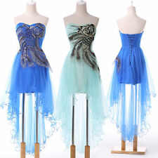 Short Long UNIQUE STYLE Wedding Cocktail Evening Banquet Prom Homecoming Dresses