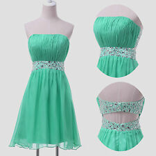NEWLY SALES  Masquerade Short Bridesmaid Party Gown Prom Formal Evening Dresses