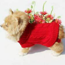 Hot pet dog cat clothing sweater appreal Dog Clothes Winter Jacket Jumper 2 size