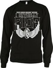 Some People Collect T-shirts I Actually Ride Motorcycle Long Sleeve Thermal