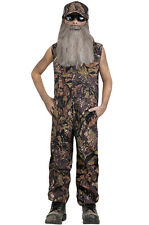 Duck Hunter Jumpsuit Outfit Child Costume