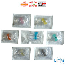 CHOICE OF SIZE & QUANTITY: 1 2 5 10 15 20 25 30 BUTTERFLY CANNULA WINGS CHEAPEST