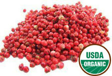 Pink Peppercorns :: Certified Organic :: Peppercorn :: Multiple Sizes Available