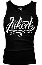 Inked Tattoos Tattooed Artist Tatted Up Hardcore Gothic Boy Beater Tank Top