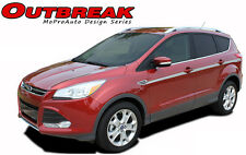 2013-2015 Ford Escape Outbreak Mid-Body Line 3M Pro Vinyl Graphics Stripes Decal