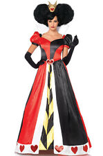 Deluxe Queen of Hearts Alice in Wonderland Adult Costume