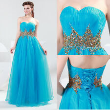 SALE IN FULL SWING Strapless Formal Prom Evening Dresses Wedding Bridemaid Gowns
