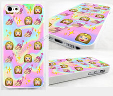 case,cover fits iPhone and samsung models Tie Dye,princess,stars,nails, Emoji.