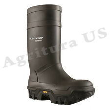 Dunlop Rubber Explorer Thermo+ Full Safety Black, Charcoal Shoes 6-15 E902033