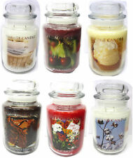VILLAGE CANDLE - SCENTED JAR CANDLES IN SMALL, MEDIUM & LARGE & DIFFERENT SCENTS