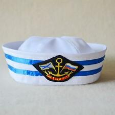 Popeye Gob Gilligan Sailor Hat Navy Cap Stag Hen Captain Hat Cosplay/Party Props