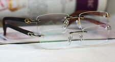 NEW Rimless Eyeglass Frames   T8101077   Two Colors Size 55-18-140