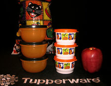 Tupperware Halloween CHOICE ~8oz Ideal Little Mini Mixing Bowls ~4oz Snack Cups