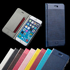 New Flip Leather Wallet Skin Case Cover for Apple iPhone 6 & iPhone 6 Plus
