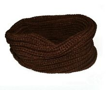 Women's Long Candy colors Scarf Wraps Warm Infinity Circle Cable Knit Cowl