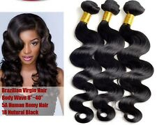 NEW 100% Virgin Brazilian Remy Body Wave Unprocessed Human Hair Weave/Extension