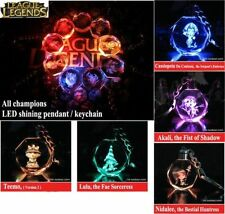 League Of Legends Crystal 7 Color Flash LED Light Keychain-All-Star 1 pc