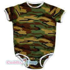 Camouflage Adult Baby Romper Onesie Snap Closure private listing