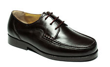 Mens Luca Mancini LM8901 Black Lace Up Smart Casual Shoes Sizes UK 6 to 11