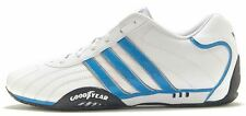 Adidas Originals: Goodyear Adi-Racer White & Blue Trainers D65636