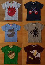 MINI BODEN Boys T-Shirt / Top Age 2 3 4 5 6 7 APPLIQUE **NEW SIZING**