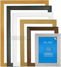 PHOTO PICTURE POSTER FRAME BLACK PINE WHITE OAK DARK OAK SILVER