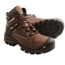 "New $250 Men's KEEN Portland PR 6"" Waterproof Work Utility Boots Aluminum Toe"