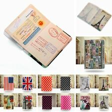 PVC Travel Holder ID Credit Card Case Organiser Protector Passport Cover Skin
