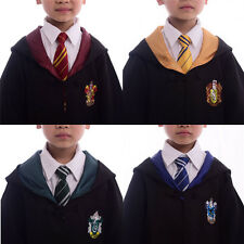 Harry Potter Gryffindor/Slytherin/Hufflepuff/Ravenclaw School Robe Kids Costumes
