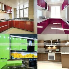 Adhesive PVC Plastic Oil Proof Kitchen Cabinet Sticker Shelf Contact Paper Decal