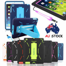 Shocks Drops Proof Heavy Duty Case Cover Kickstand & Free Stylus for Apple iPad