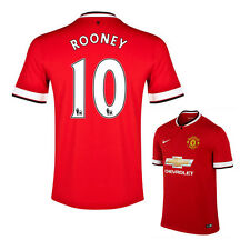 Nike 2014/15 Manchester United Wayne Rooney YOUTH Soccer Jersey #10 Home NWT
