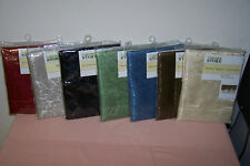 """Window Valance Assortment 60"""" x 19"""" New in Pack You Choose Color (6 Choices) WOW"""