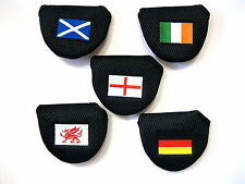 England Scotland Wales Ireland Germany National Flag Mallet Putter Cover NEW