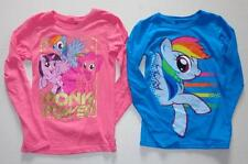 MY LITTLE PONY Girls 7 8 10 12 14 16 Tee SHIRT Top RAINBOW DASH Pinkie Pie MLP