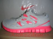 NEW NIKE FREE RUN 2 EXT Running Shoes MENS 8 - 13 Grey/Crimson Red 555174-002 7