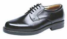 Mens Gents Leather Wide Fit Scimitar Gibson Shoes Size 6 - 14 NEW