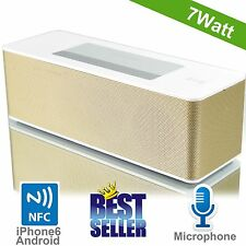 Microlab MD215 NFC Bluetooth Speaker Wireless Sound bar Subwoofer Amplifier 7W